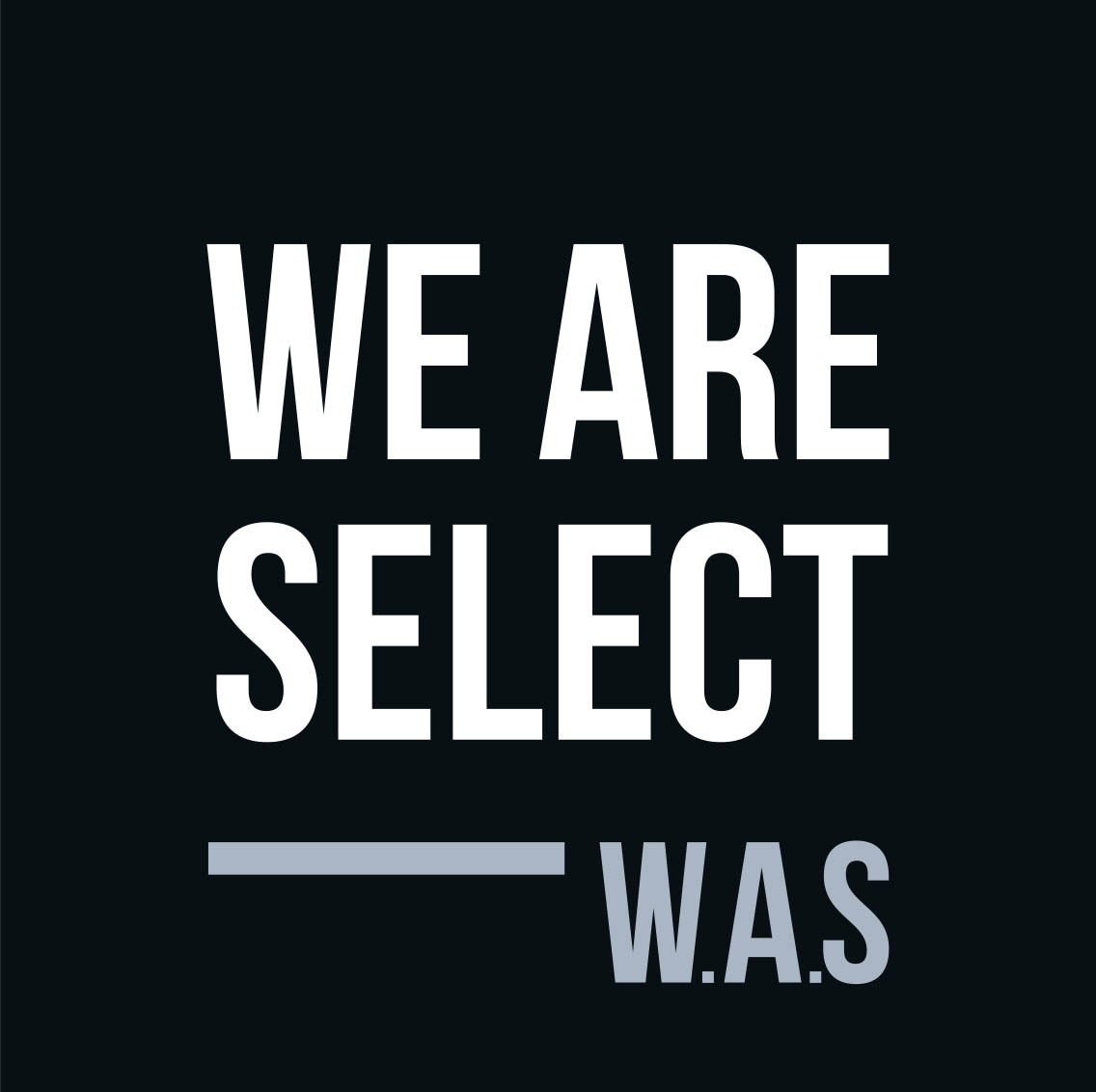 logo we are select